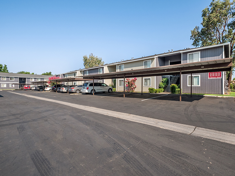 Covered Parking | Riverbank Apartments