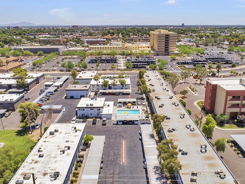 Aerial View | 454 West Brown Apartments