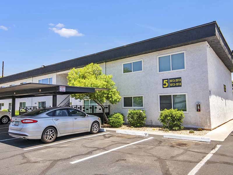 Exterior | 454 West Brown Apartments in Mesa, AZ