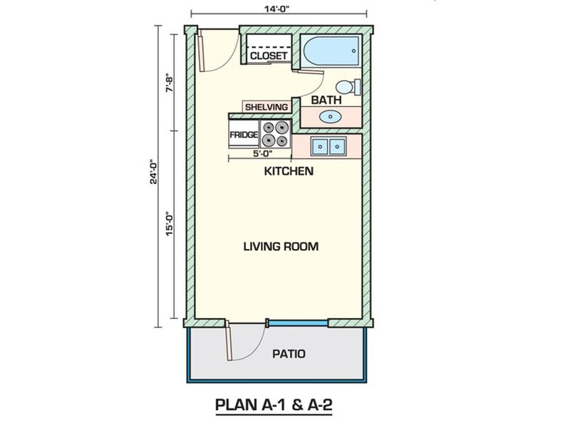 Studio 285 apartment available today at Sahara in Tucson