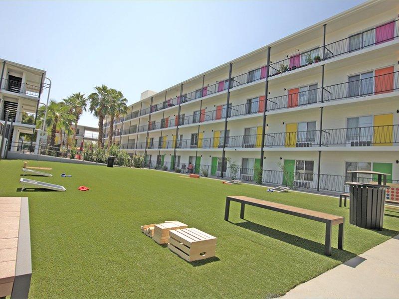Cornhole | Sahara Apartments in Tucson, AZ