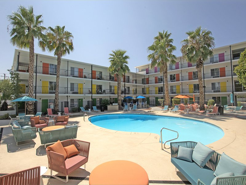 Resort Inspired Pool | Sahara Apartments in Tucson, AZ