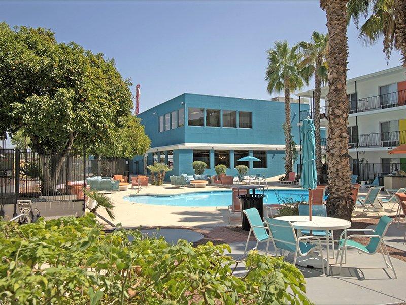 Exterior | Sahara Apartments in Tucson, AZ