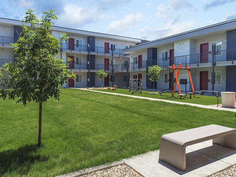 Courtyard | Urbana on 12th