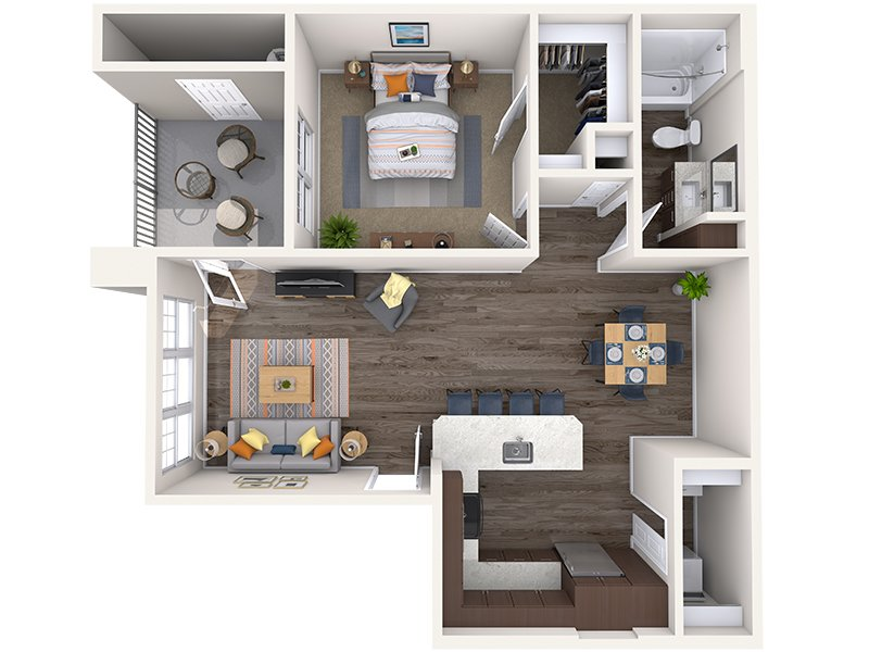 A1 apartment available today at Copper Falls in Glendale