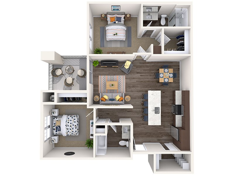 B1 apartment available today at Copper Falls in Glendale