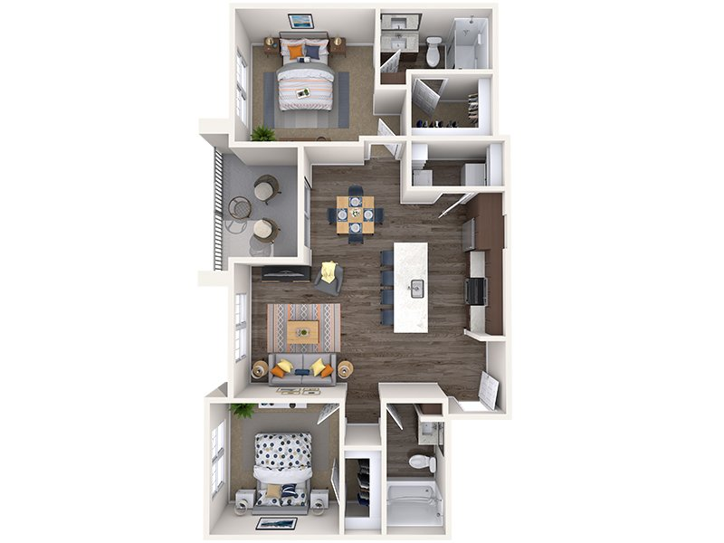 L2 apartment available today at Copper Falls in Glendale