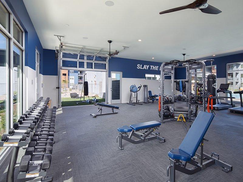 Fitness Center | Copper Falls Apartments in Glendale, AZ