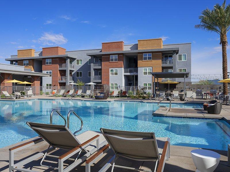 Shimmering Pool | Copper Falls Apartments in Glendale, AZ