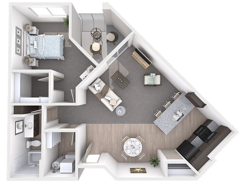 View floor plan image of A2 apartment available now