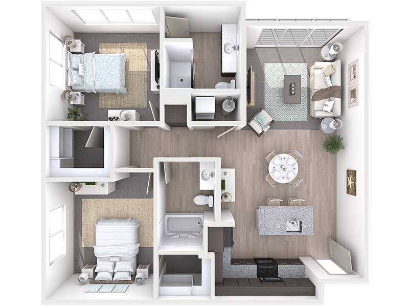 View floor plan image of B1 apartment available now