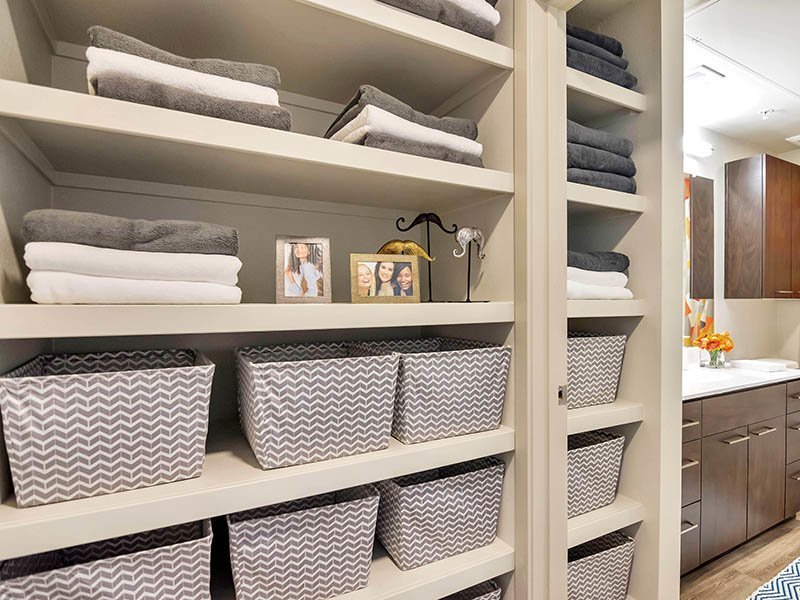 Closet Storage | The Curve at Melrose Apartments in Phoenix, AZ