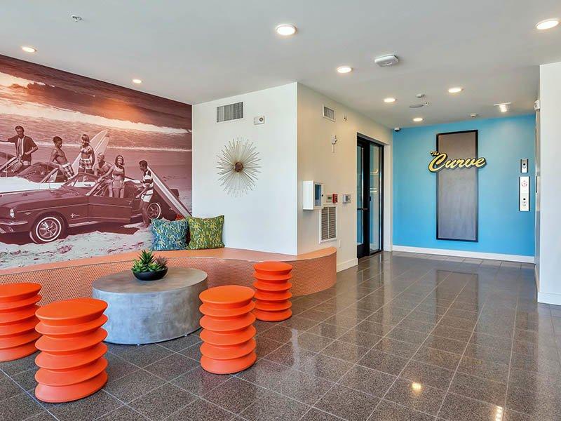 Elevators | The Curve at Melrose Apartments in Phoenix, AZ