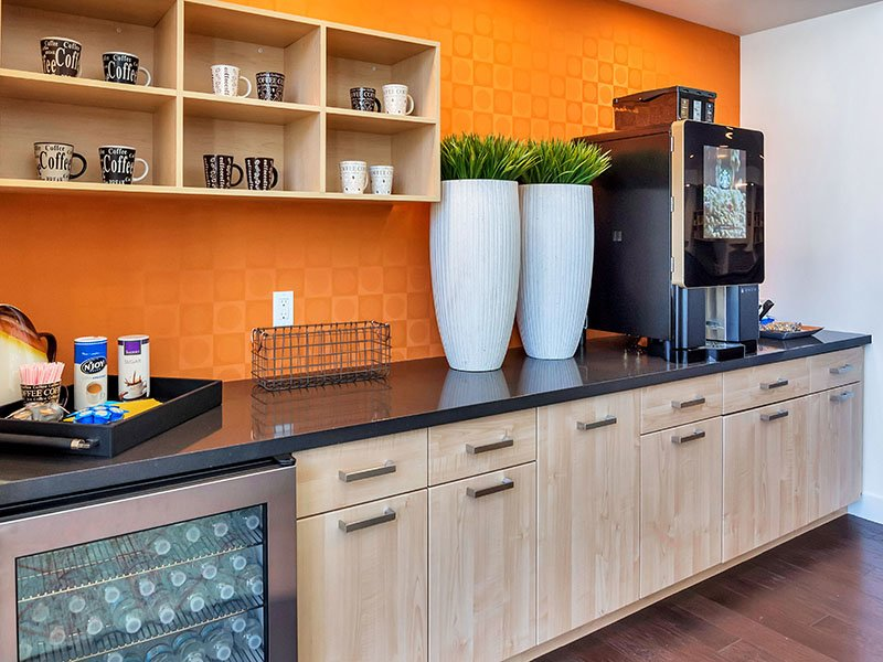 Coffee Bar | The Curve at Melrose Apartments in Phoenix, AZ