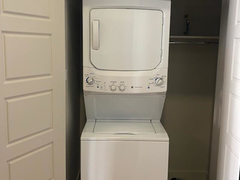 Washer & Dryer | Lotus Apartments