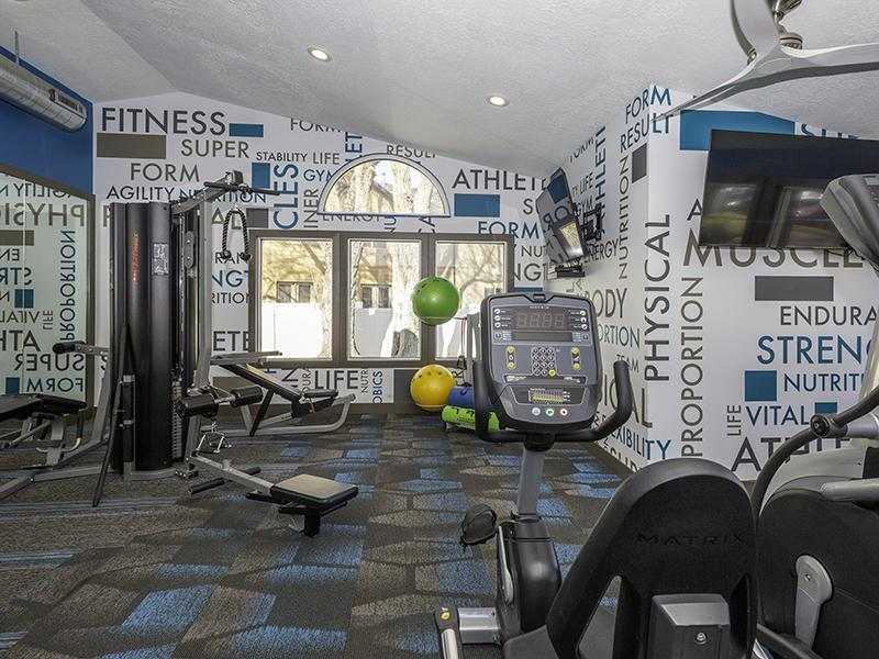 Fitness Center | Candlestick Lane Apartments in Salt Lake City, UT