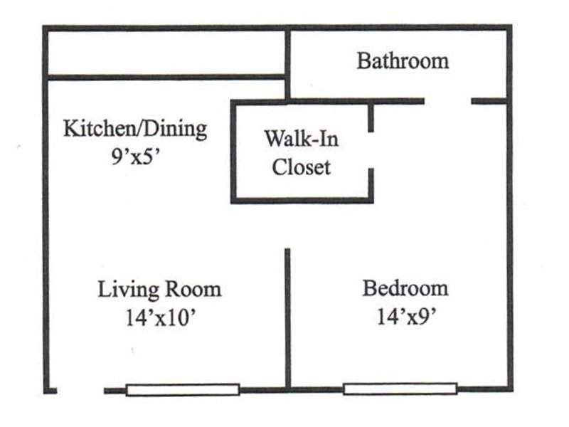 1 Bedroom apartment available today at Lodge2765 in Tallahassee