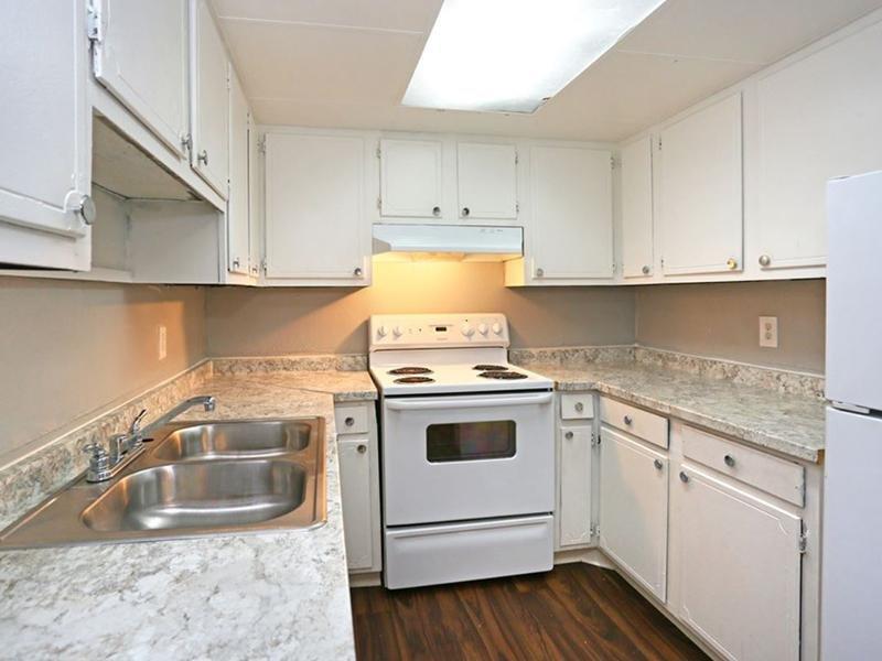 Kitchen | Places at Capitol Village Apartments