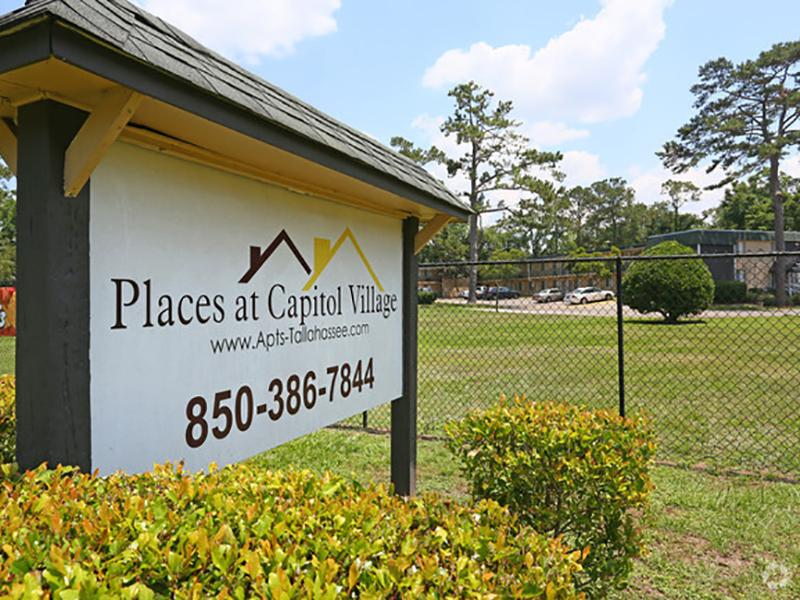Welcome Sign | Places at Capitol Village