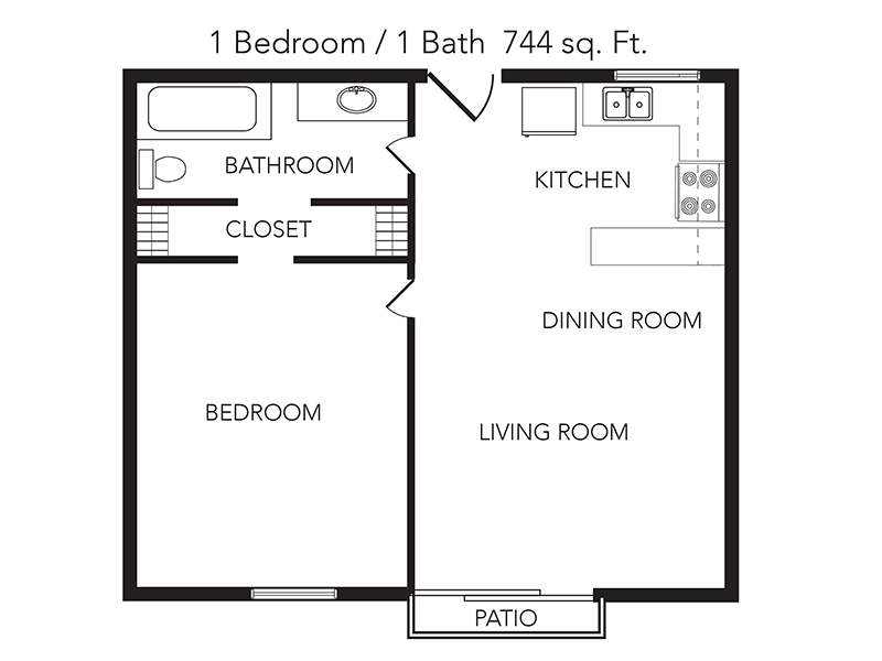 1 Bedroom 1 Bathroom apartment available today at The View on the River in Jacksonville