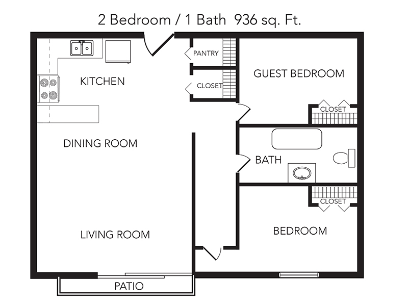 2 Bedroom 1 Bathroom Renovated apartment available today at Cedar Ridge in Jacksonville