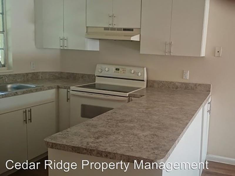 Kitchen | Cedar Ridge Apartments