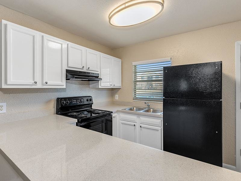 Fully Equipped Kitchen | The View on the River