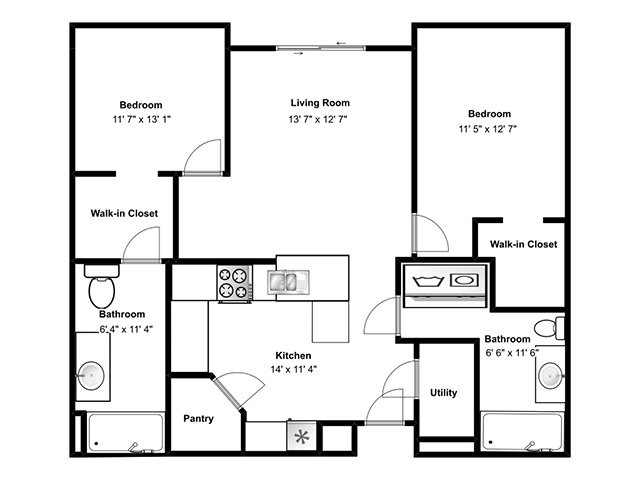 View floor plan image of Mindora apartment available now