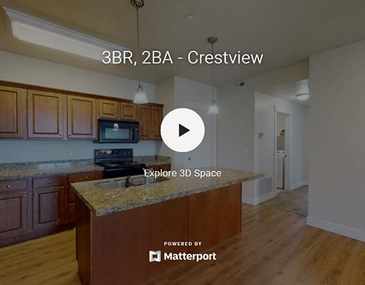 3D Virtual Tour of Cresthaven Apartments