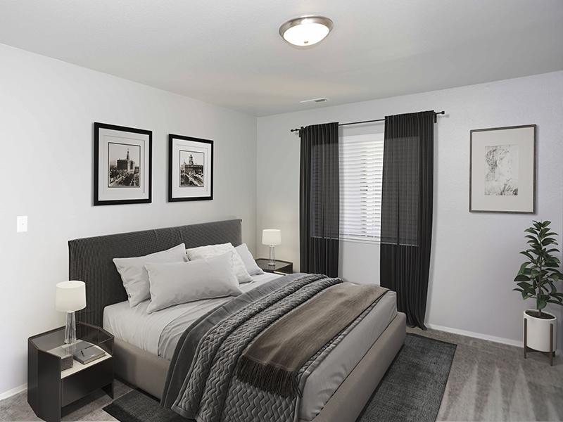 Bedroom | Sunnyvale Apartments