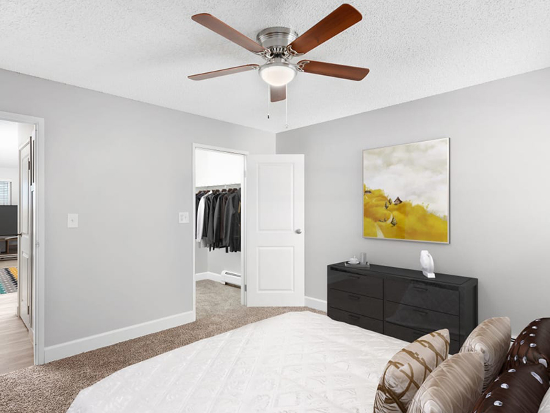 Bedroom Interior | Lakeview Heights in Lakewood, CO