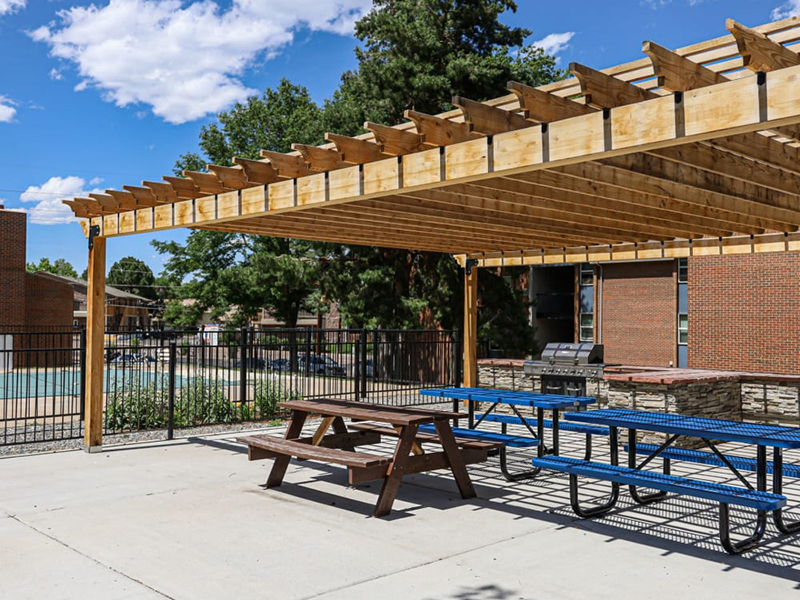 Picnic Area | Lakeview Heights in Lakewood, CO