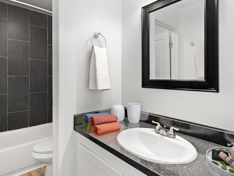 Bathroom | Lakeview Heights in Lakewood, CO