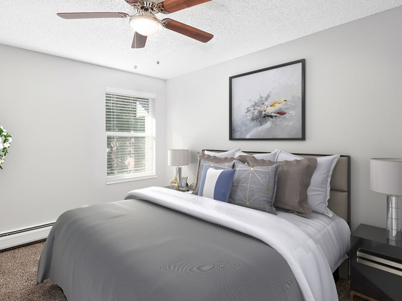 Bedroom | Lakeview Heights in Lakewood, CO