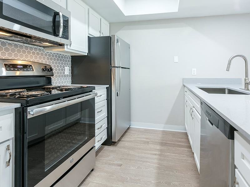 Fully Equipped Kitchen | The Station Apartments