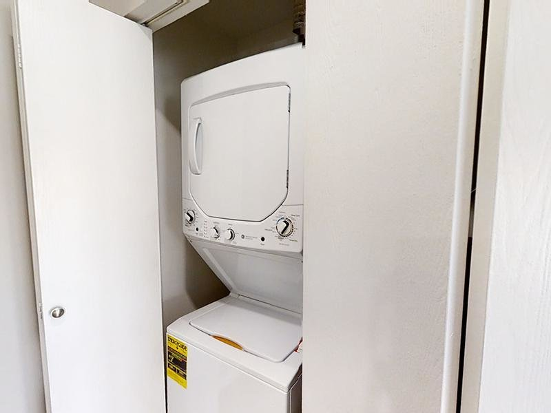 Washer & Dryer | The Station Apartments