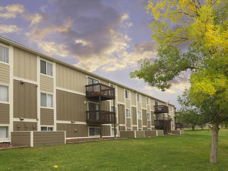Sunridge Apartments | Back View | Casper, WY