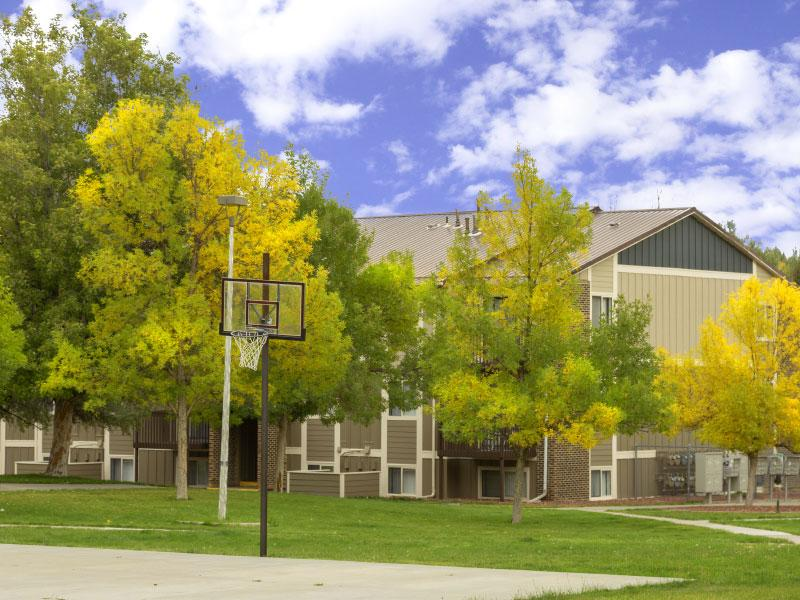 Sunridge Apartments | Basketball Court | Casper, W