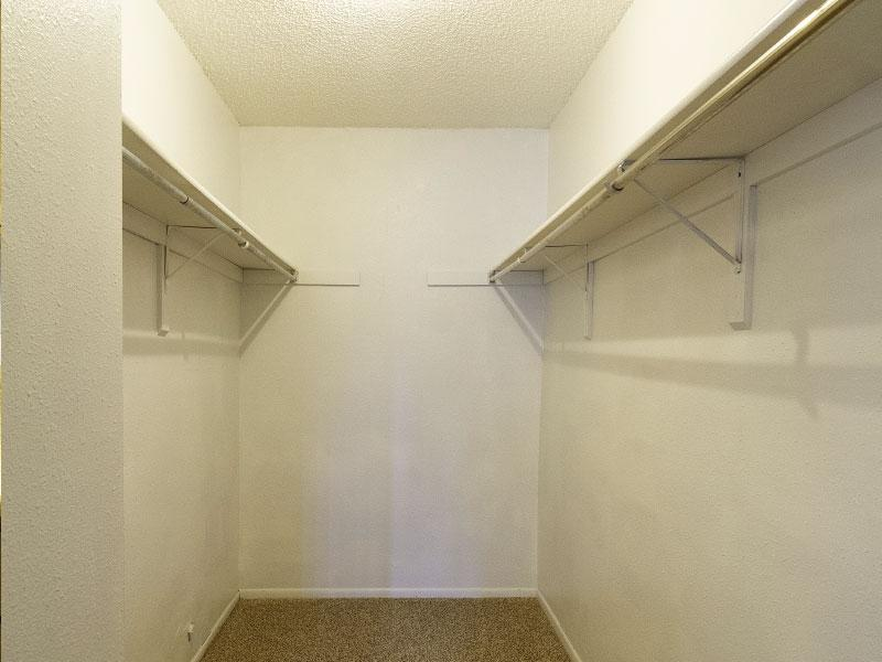 Sunridge Apartments | Walk in closet | Casper, WY