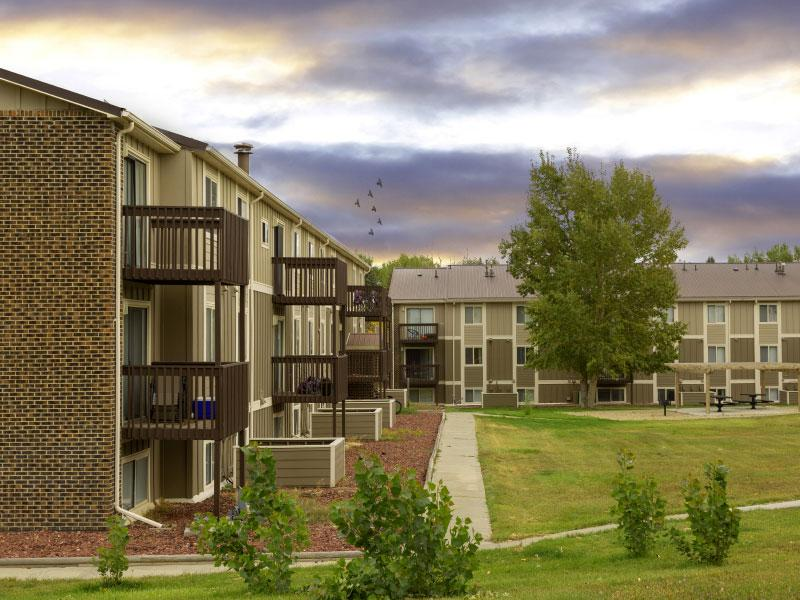 Sunridge Apartments | Exterior View | Casper, WY