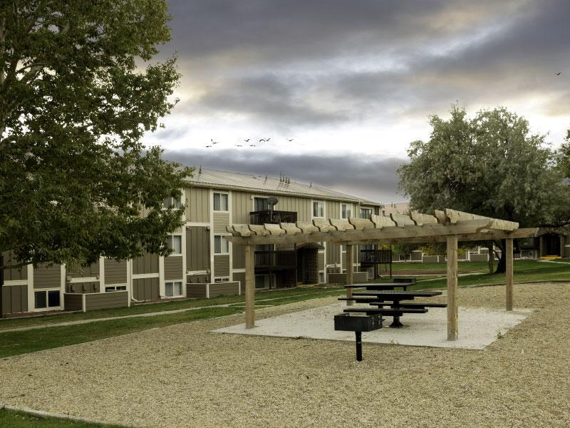 Sunridge Apartments | Bench | Casper, WY