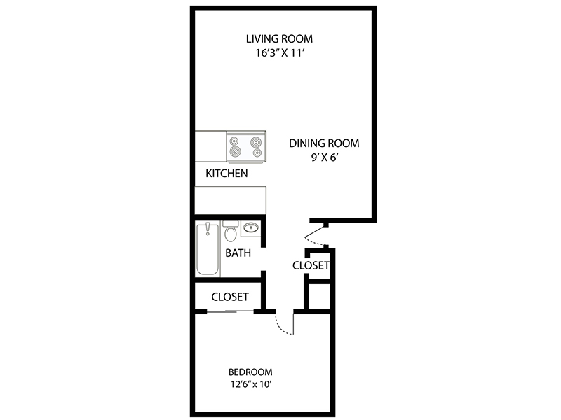 1 Bedroom apartment available today at Riviera in Northglenn