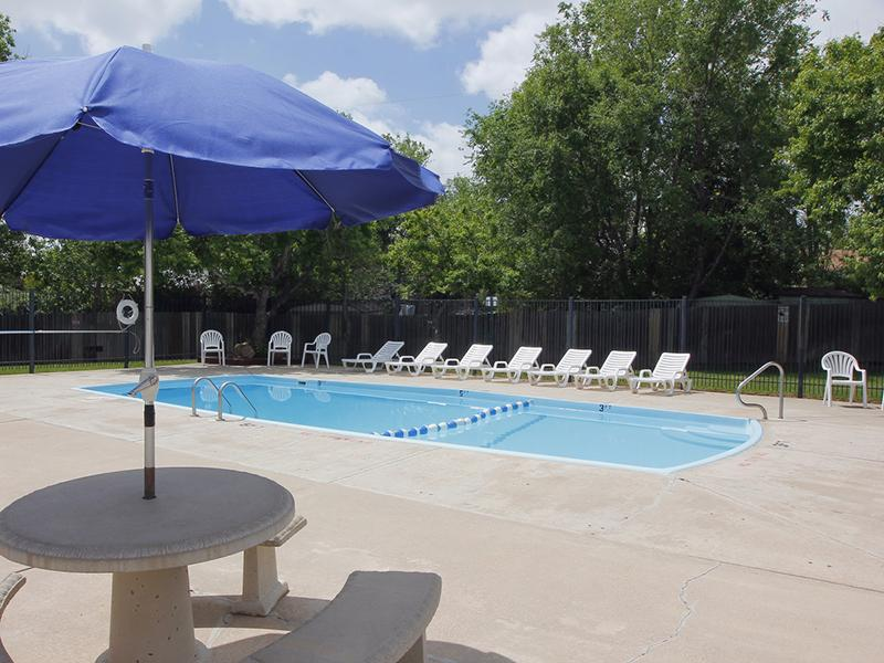 Pool   Riviera Apartments in Northglenn, CO