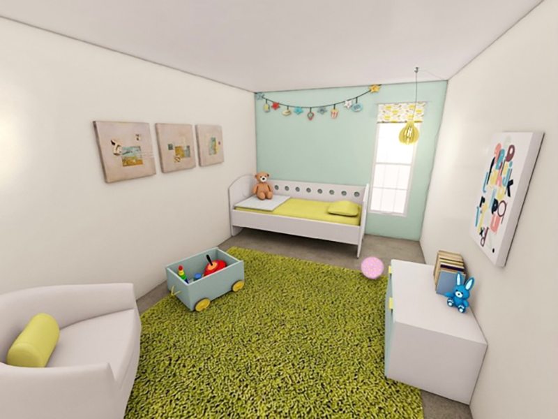 Nursery - Rendering   Riviera Apartments in Northglenn, CO
