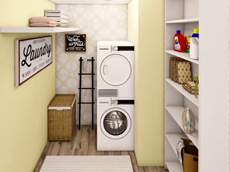 Laundry Room - Rendering   Riviera Apartments in Northglenn, CO