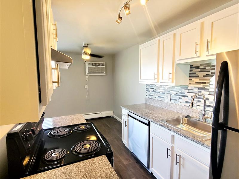 Kitchen   Riviera Apartments in Northglenn, CO