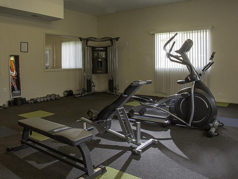 Gym | Sweetwater Heights Apartments