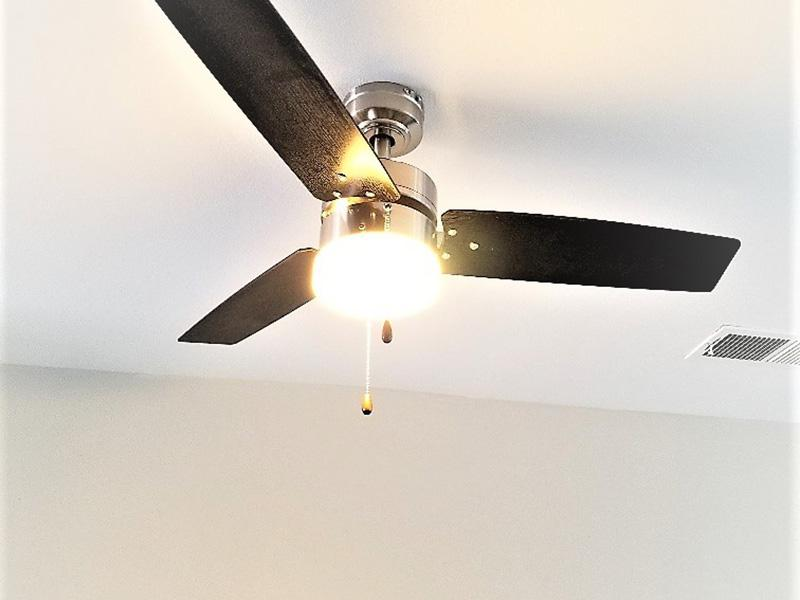 Ceiling Fans | Galleria Townhomes