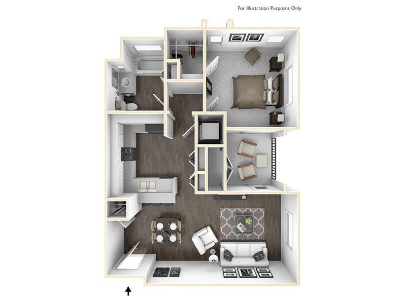 1x1 apartment available today at Sereno in Chula Vista
