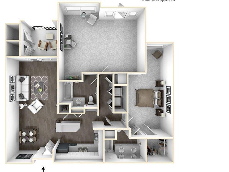 1x2L apartment available today at Sereno in Chula Vista